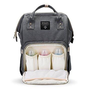 Backpack Baby Bag Grey