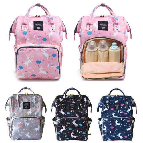 118e3bd1cfe3 Unicorn Backpack Baby Bag – BLACK - Mira s Space
